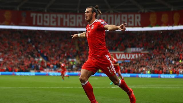 Untuk Keenam Kalinya, Bale Dinobatkan sebagai Pemain Terbaik Wales