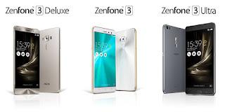 شركة asus تعلن عن تلات هواتف رائدة من سلسلة zenfone 3