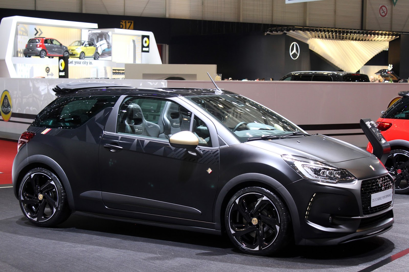 automotiveblogz citroen ds3 cabrio performance geneva 2016. Black Bedroom Furniture Sets. Home Design Ideas