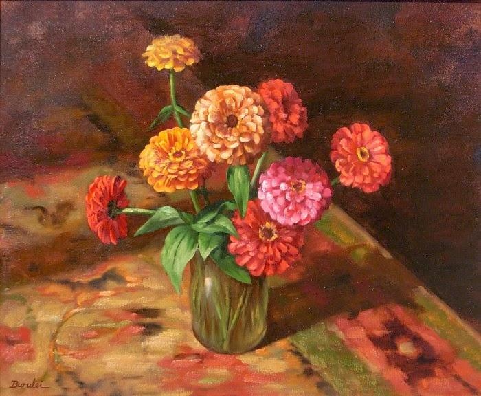 Китайский художник. Rulei Bu