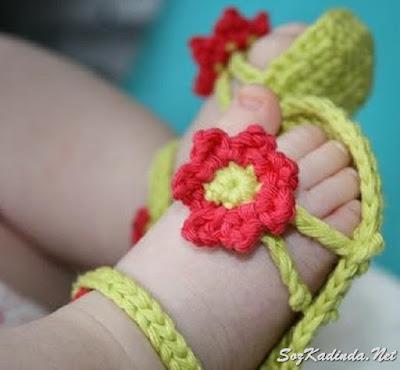 yazlık kız  bebek patik modelleri