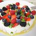 Crepes sin lactosa con queso y frutos rojos