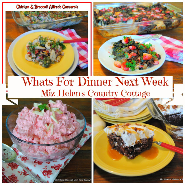Whats For Dinner Next Week 9-16-18 at Miz Helen's Country Cottage