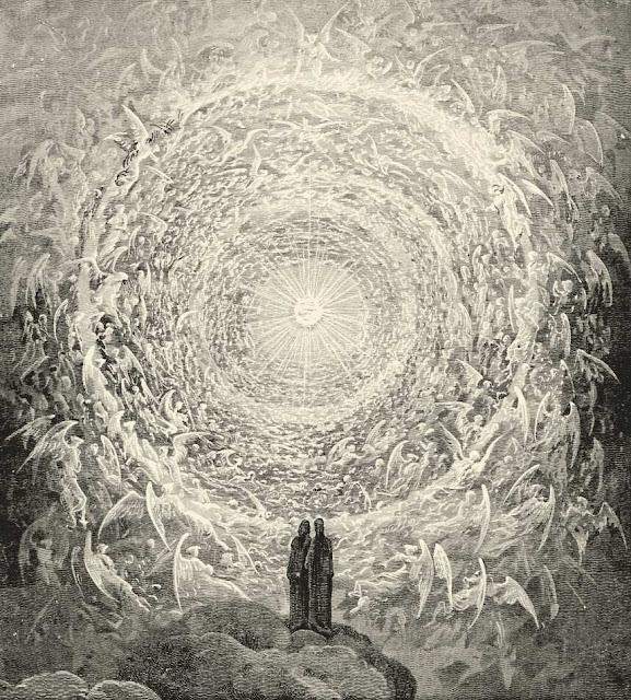 Gustave Dore - Dante y Beatrice observan el Cielo - s. XIX