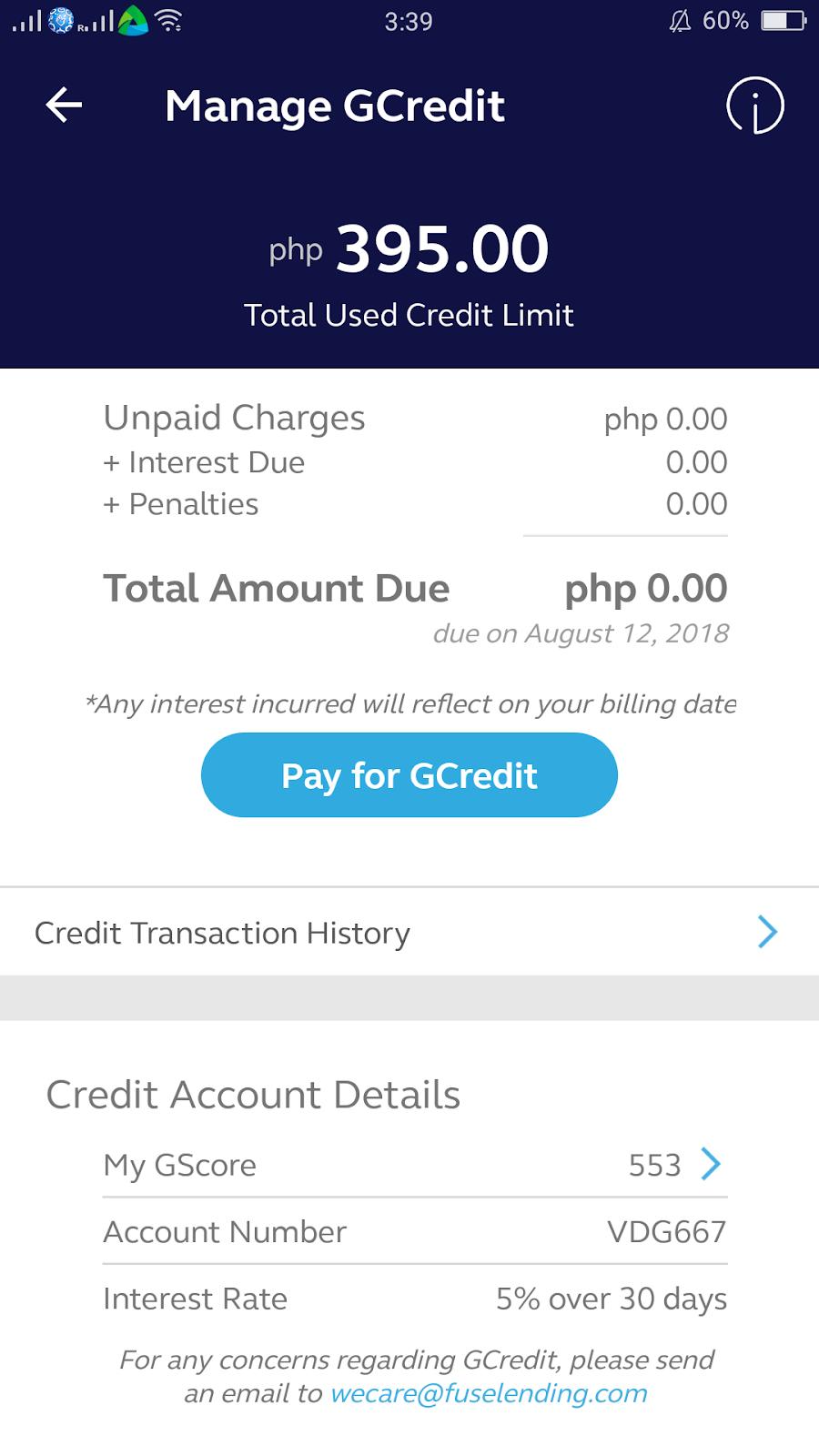 GCash' GCredit Is Pro Financial Inclusion ~ Viva Manilena