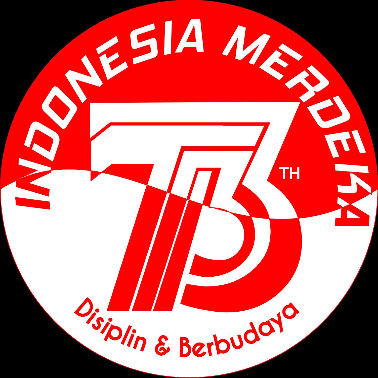 73+tahun.png (1503×1503) Indonesia, Desain logo, Hari