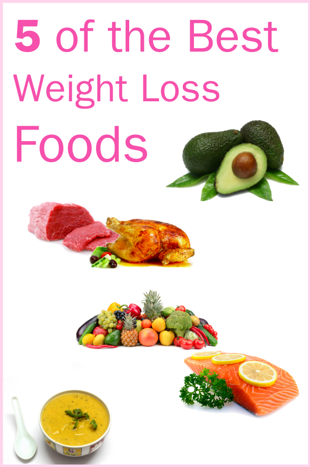 5 of the Best Weight Loss Foods