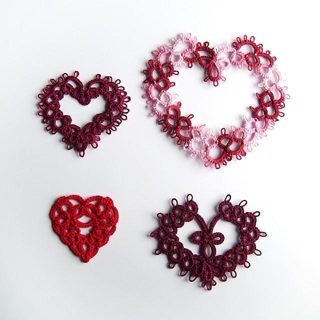serce z koronki