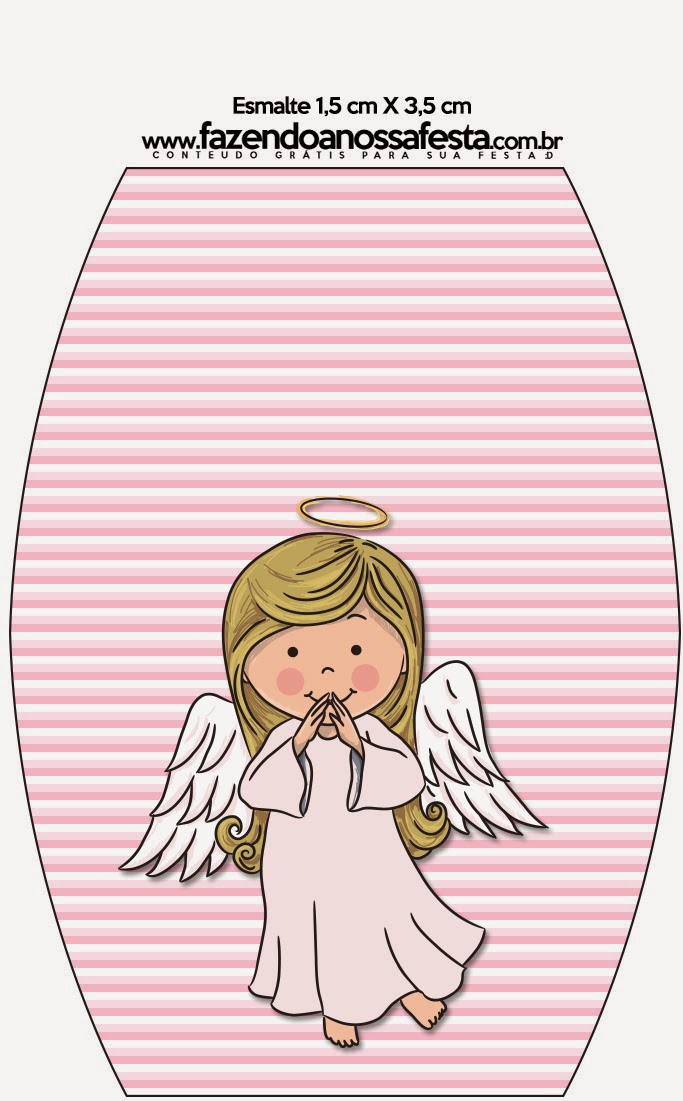 Angel Girl Free Printable Candy Bar Labels Oh My Fiesta in english