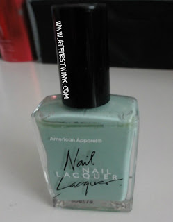 American Apparel nail lacquer in Office