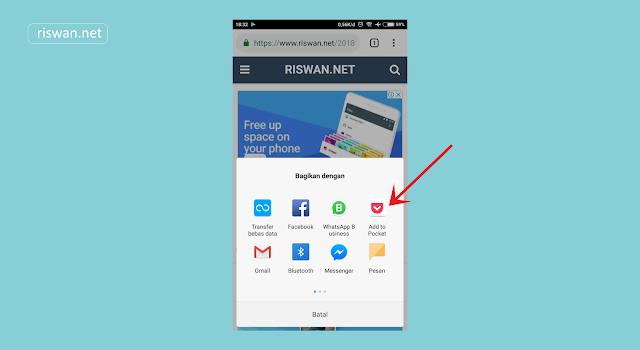 Membaca Artikel Secara Offline di Android