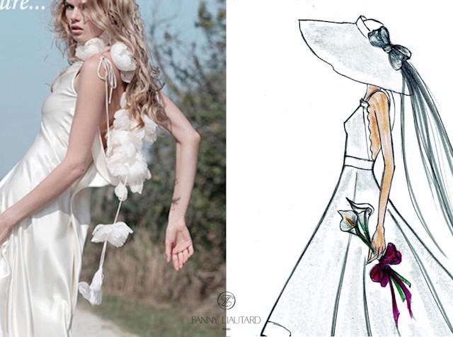 Fanny liautard créatrice de robes de mariée Paris