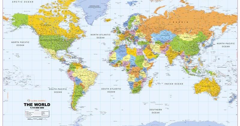 hur många länder i världen