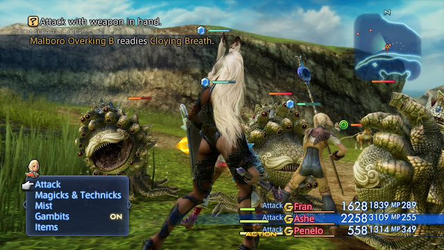 Final Fantasy on PlayStation 4