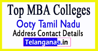 Top MBA Colleges in Ooty Tamil Nadu