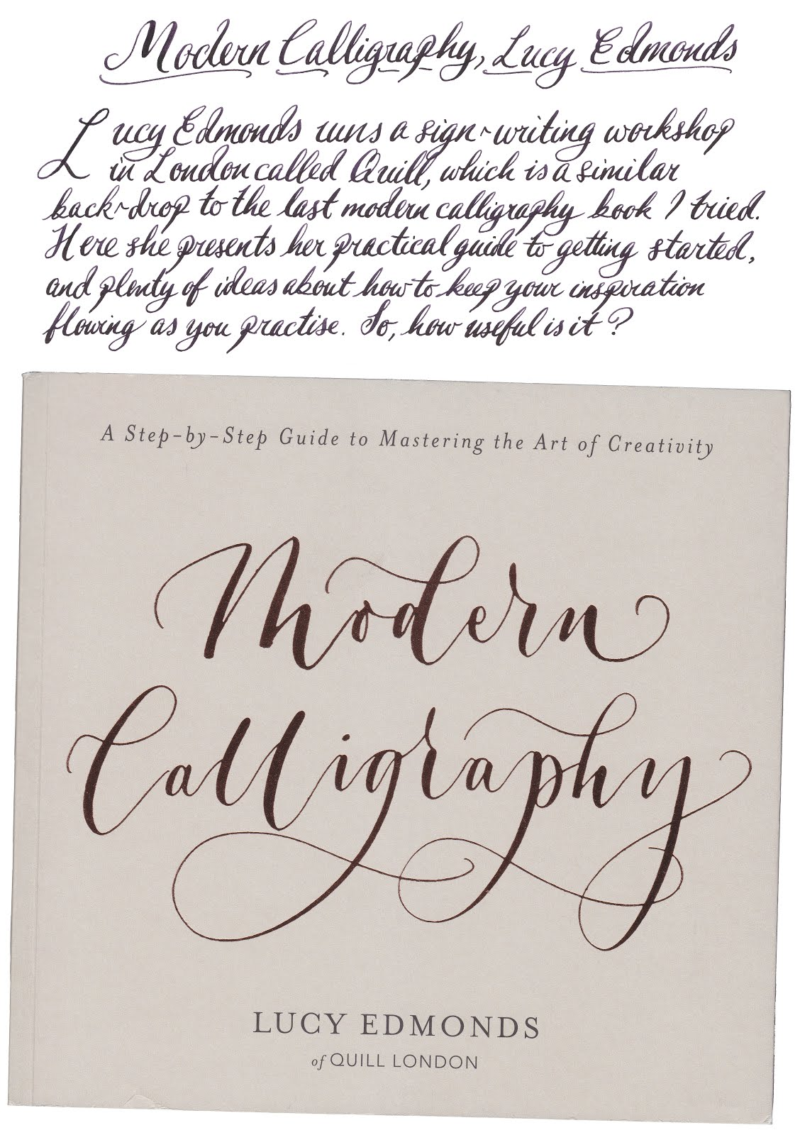 Too Many Pens Modern Calligraphy Book Review