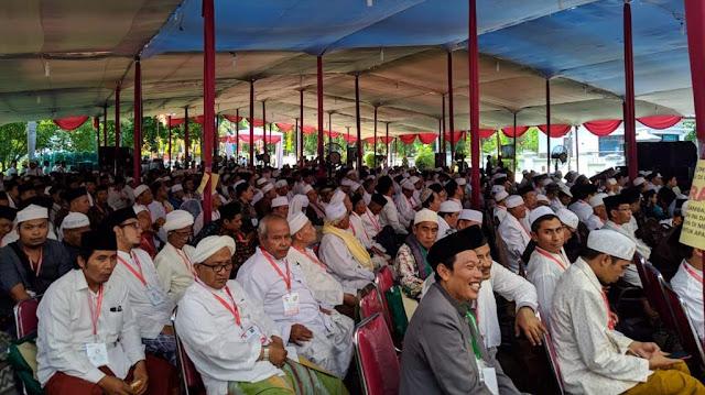 Ribuan Pengamal Thariqah Banjiri Pembukaan World Sufi Forum di Pekalongan