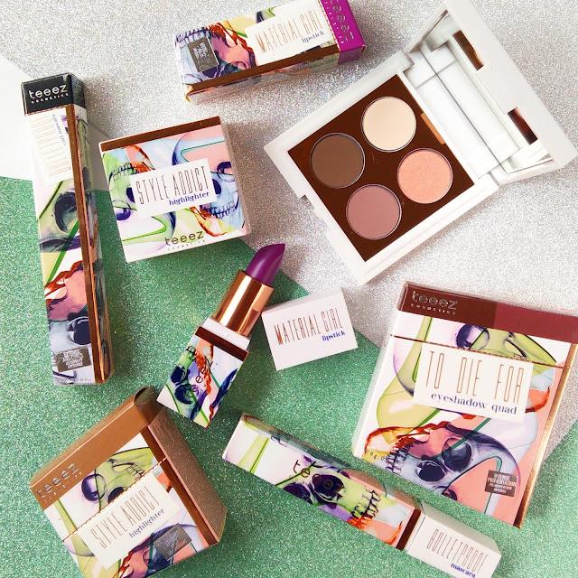 colección fashion vendetta de teeez cosmetics