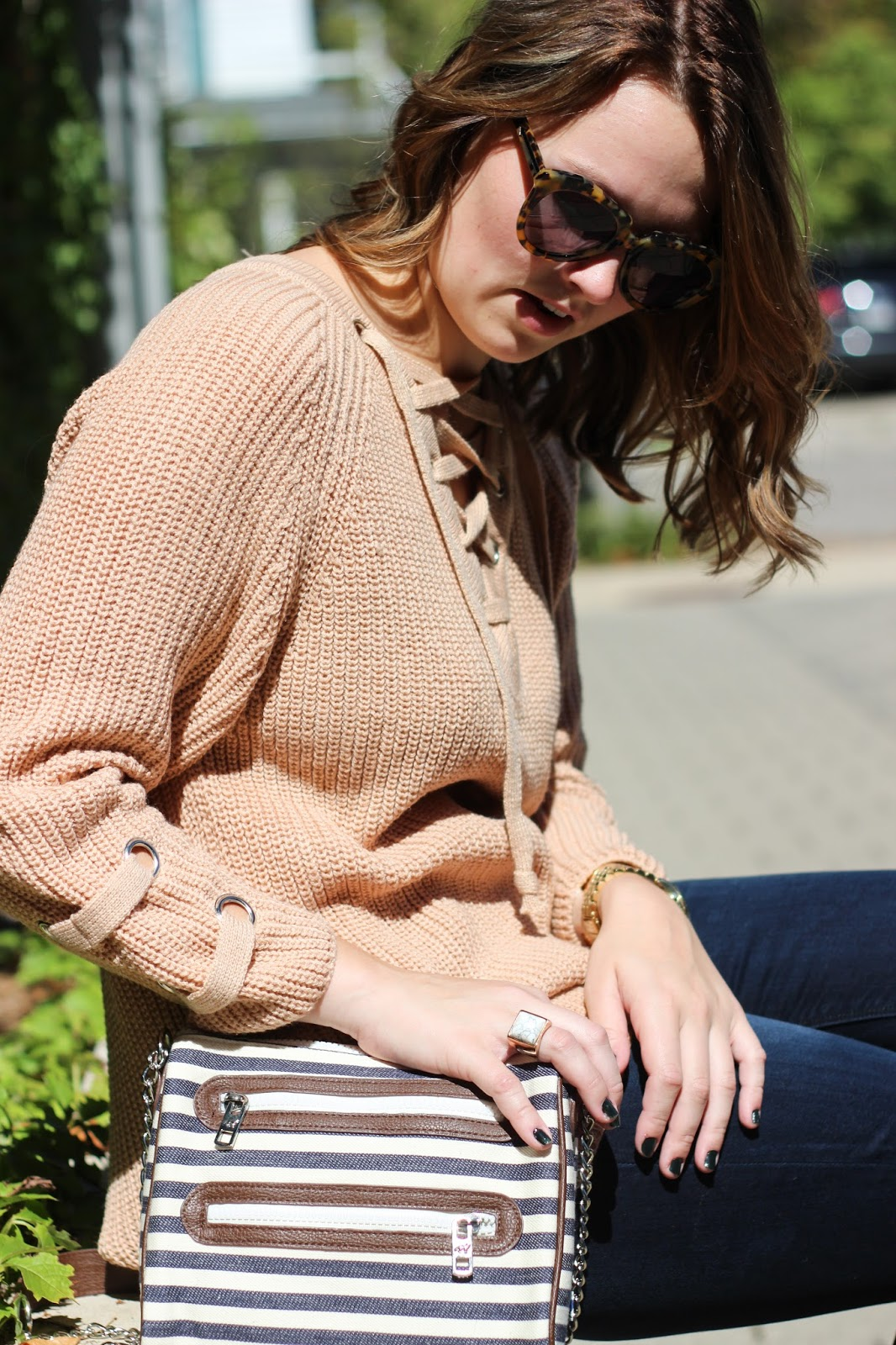 Lace It Up. Chicwish Lace-up Mood Sweater ... 1c2d5c2e0