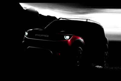 Ford Bronco Teased India