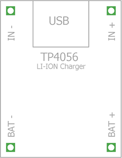 mzst's blog: TP 4056 Charging Module Eagle Footprint