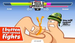لعبة مصارعة الاصابع
