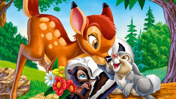 Play Bambi Puzzle game