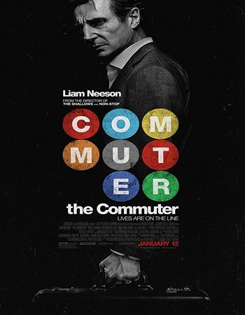 The Commuter (2018) English 720p HC HDRip
