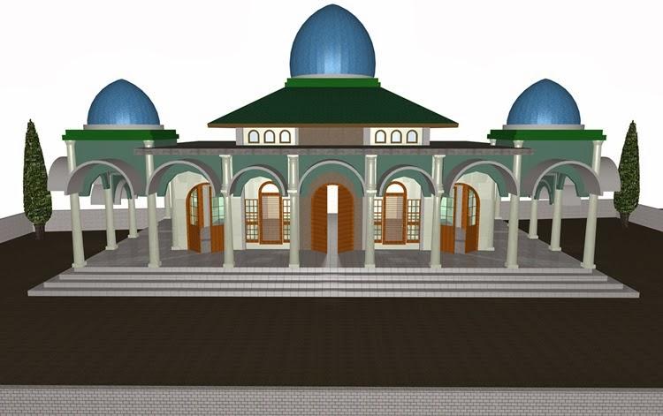 Masjid Ukuran 13 M X 21 M Bangunan Utama 8 M X 14 M Home Design