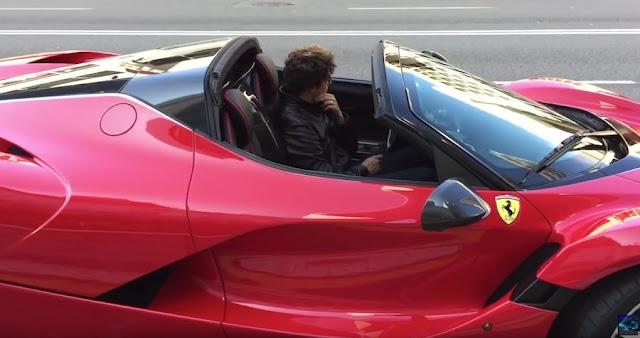 【動画】ラ フェラーリのオープンカー「アペルタ」のプロモーションビデオ撮影の様子。