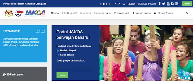 Rasmi - Jawatan Kosong (JAKOA) Jabatan Kemajuan Orang Asli Terkini 2019