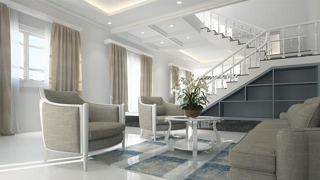 Interior Living Room Furniture Neoclassical Design