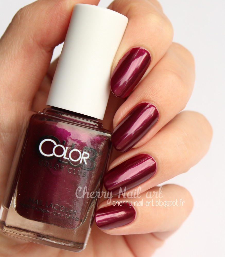 vernis color club 1050 apple of my eye collection Made in new york