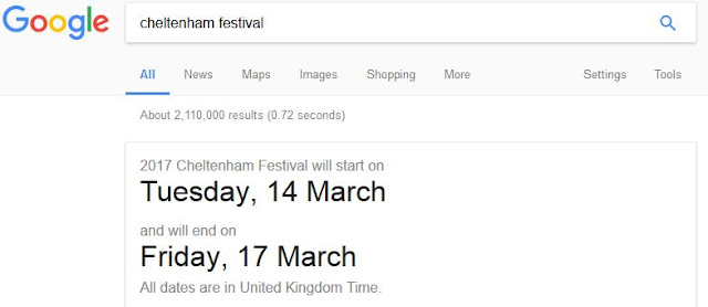 when is the cheltenham festival