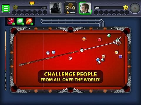 8 ball pool for iPhone and iPad Online game