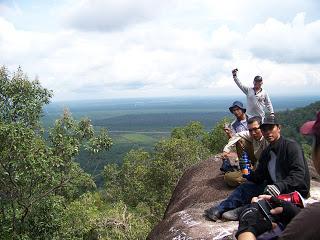 Pemandangan Bukit Wangkang Yang Menakjubkan
