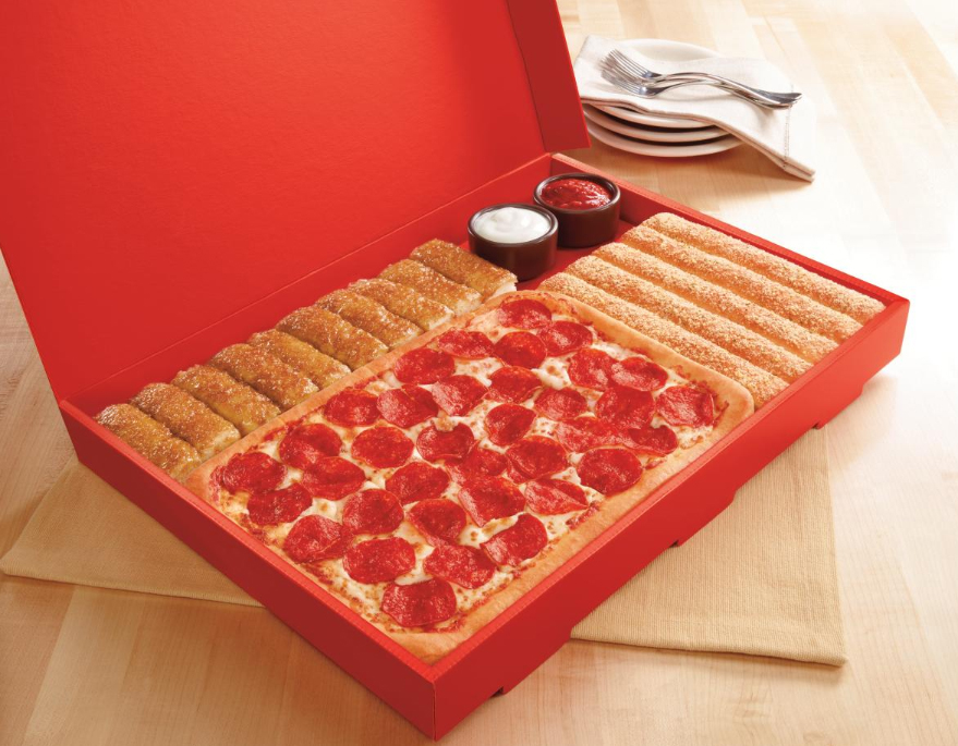 News Pizza Hut - New $10 Dinner Box Brand Eating