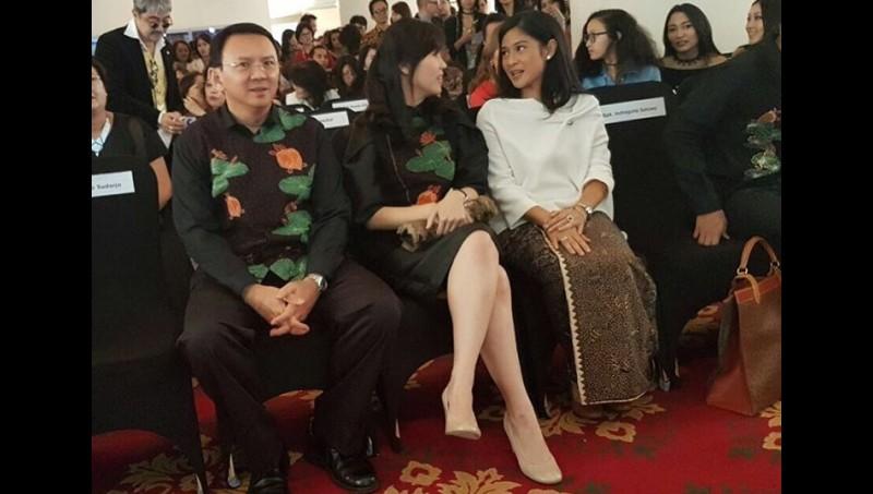 Veronica Tan di antara Ahok dan Dian Sastro
