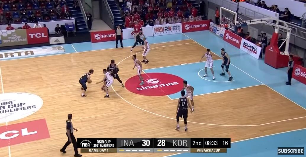 Korea vs. Indonesia (HIGHLIGHTS) 2021 FIBA Asia Cup Qualifiers | 1st Window