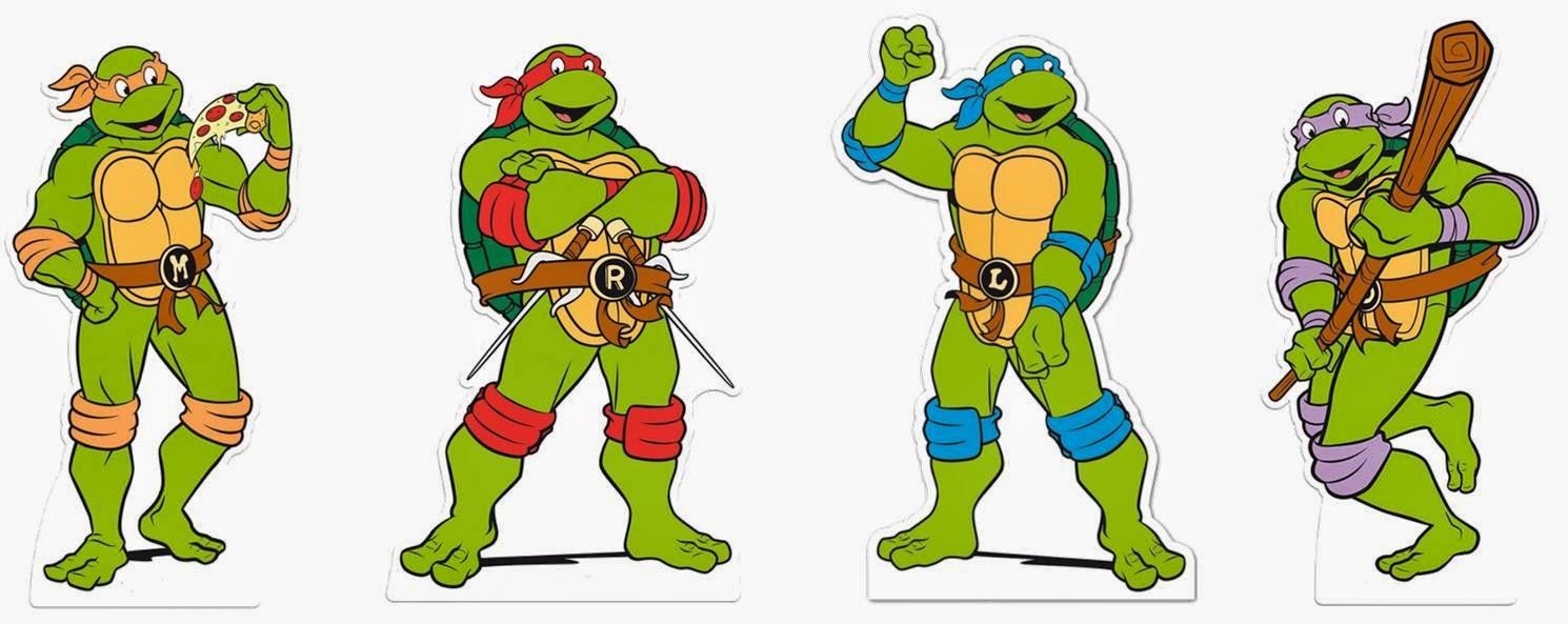 Tartarugas Ninjas Em Desenho Em Portugues