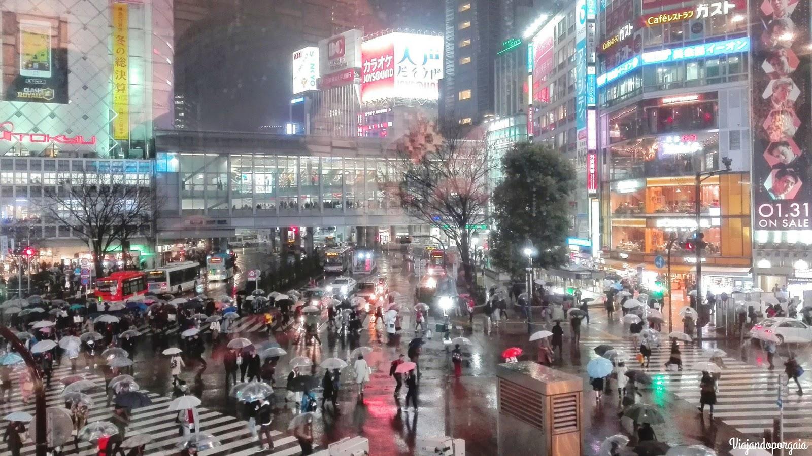 Cruce peatonal Shibuya
