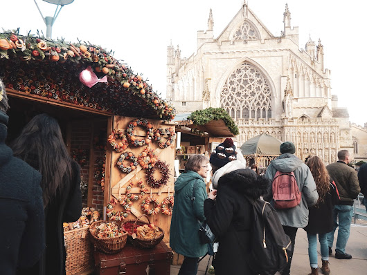 What To Eat At Exeter Christmas Market | The Emerald Dove