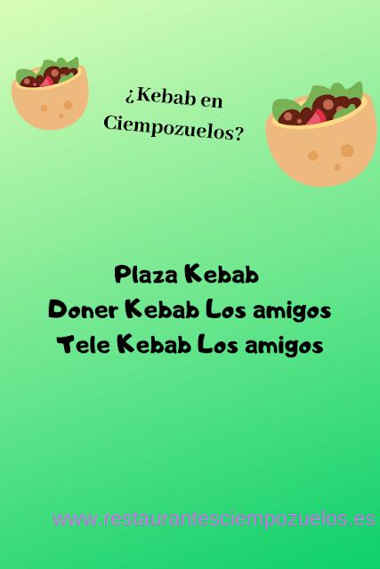 Kebab, ciempozuelos, comida a domicilio, comida rapida ciempozuelos, restaurantes ciempozuelos