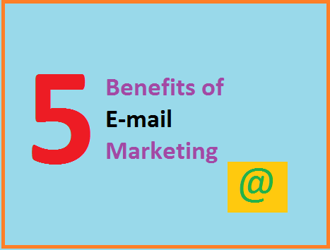 Benefits of e-mail marketing, Indian blogger marketing benefit