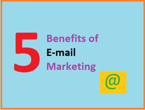 Benefits of e-mail marketing, Indian blogger marketing benefit