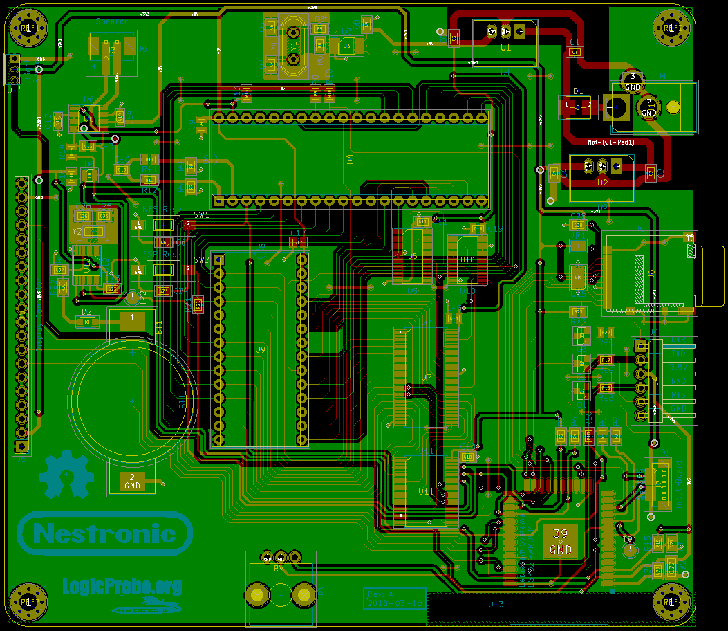 Hec Geek Building The Nestronic Prototype Part 3 Electronic Circuit With Pcb Layout