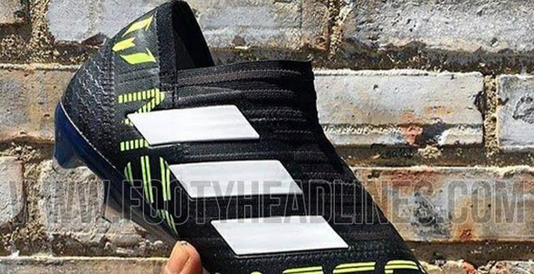 competitive price d863a 2a153 Laceless Adidas Nemeziz Messi 17+ 360Agility Dust Storm Boots Leaked