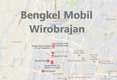 Variasi Mobil Wirobrajan, Yogyakarta