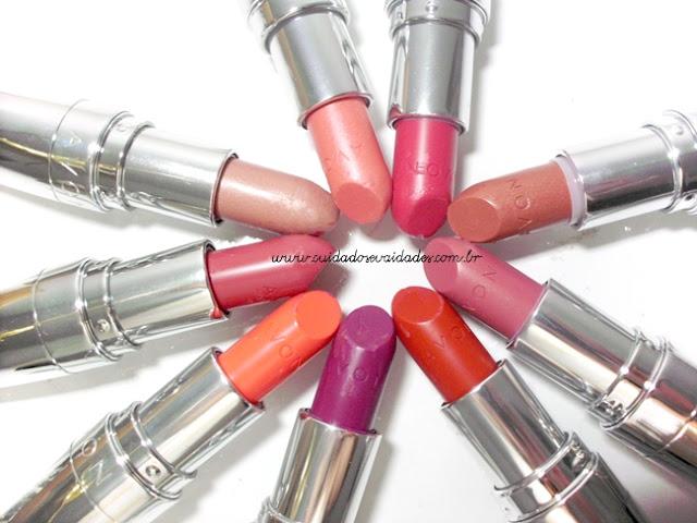 Batons Nova Coleção Beijo Total @AvonBr