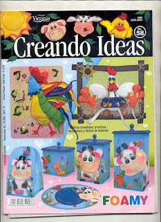 Creando Ideas Nro. 58 Foamy